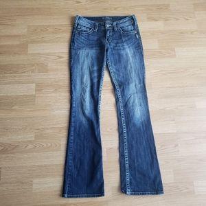SILVER Suki Bootcut Medium Wash Jeans 28/33
